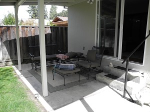 Original Patio Area