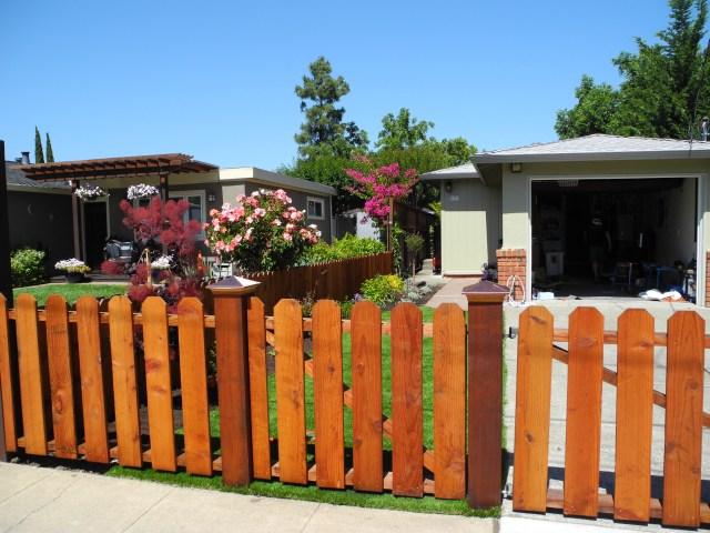 Separate Gate & Driveway Gate